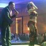 因縁のFairmont Nile City hotelでベリーダンススペシャルパーティー!Soraiya Zaied編。