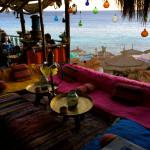 シャルムで一番お気に入りの場所はTrip Advisor1位だった海カフェ。それは恋に似ている。