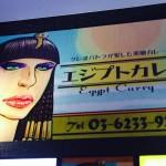 【日本】エジプトxカレー=??新宿エジプト化計画その1